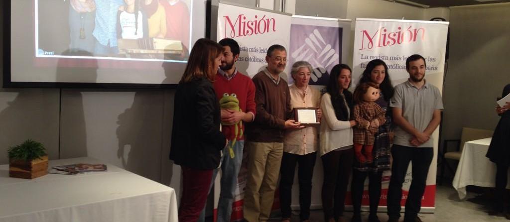 Recogemos el Premio Comunicación