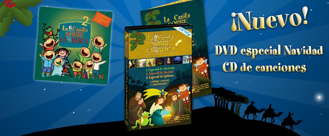 nuevo dvd especial navidad cd canciones valivan